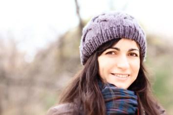 Susana en El Retiro.