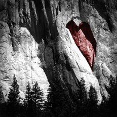Heart, Yosemite, California.