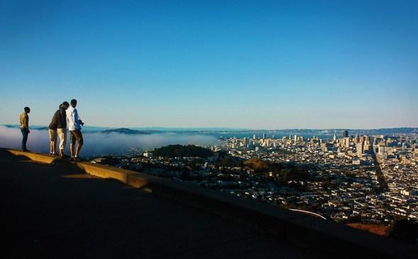 From Twin Peaks. San Francisco.