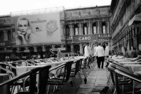 Para conmemorarme, los venecianos me nombraban en la plaza de San Marcos y sus alrededores.