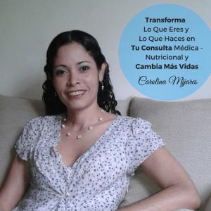 Carolina Mijares, especialista en Marketing para Médicos y Nutricionistas