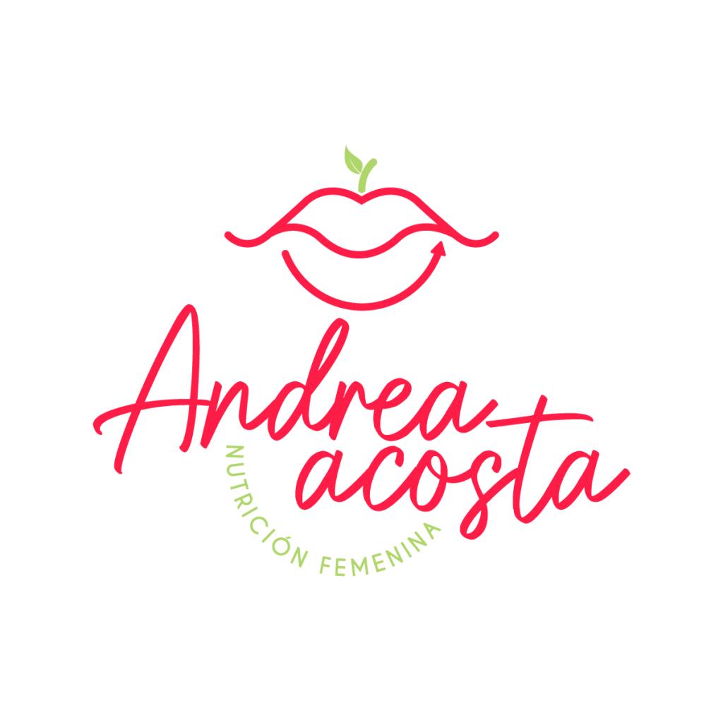 Logo Andrea Acosta Nutrición Femenina