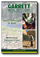 Gold Panning is Easy/Weekend Prospecting—DVD