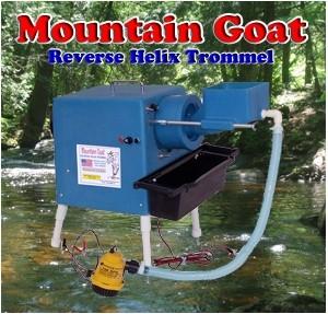 Camel Mining - Mountain Goat Reverse Helix Trommel
