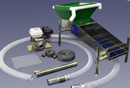 """Proline Mining - 3"""" Dredge/Highbanker Combo"""