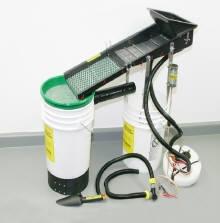 Micro-Sluice 2 -  w/ Heavy Duty HFBE (Highly Fluidized Bed Entrapment) Vibrator