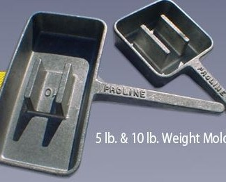 Proline - 10 lb. Diving Weight Mold
