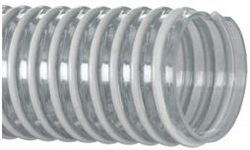 15 Ft - 4 Inch Clear Suction Dredge Hose