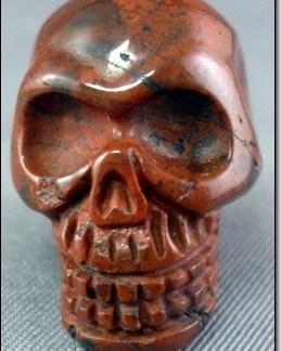 Red Snakeskin Skull