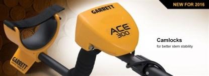 Garrett Ace 300  with 3 FREE Accessories