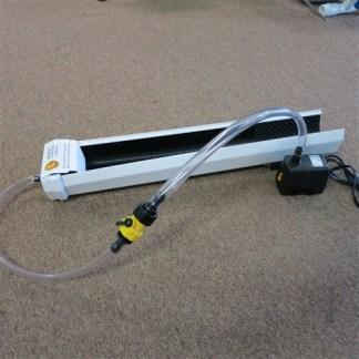 Fine Gold Recovery Mini Sluice Box GPAA Modified Recirculating w/ Pump