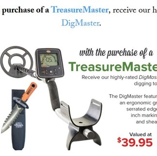 TreasureMaster - White's Metal Detectors - New !!!!