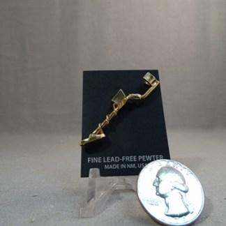 Metal Detector Hat Pin