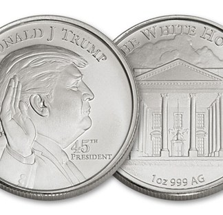 Donald Trump Silver Round 1oz .999