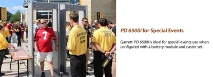 PD 6500i™ Enhanced Pinpoint Walk-Through Metal Detector  EZL VERSION - BEIGE