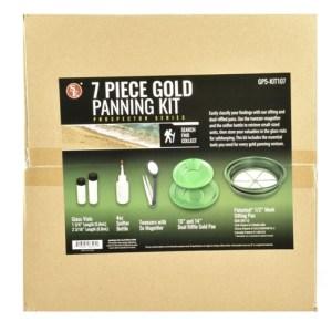 7 PC GOLD PANNING KIT