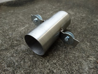 2 1/2 Inch Stainless Dredge Adaptor