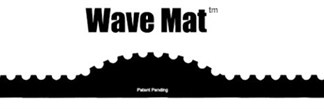 The Wave Gold Hog Mat