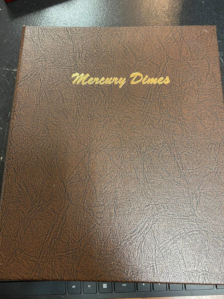 7123 - Dansco Mercury Dimes 1916-1945 (USED)