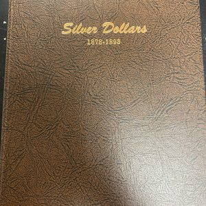 7173 - Dansco Silver Dollars 1878-1893 (USED)