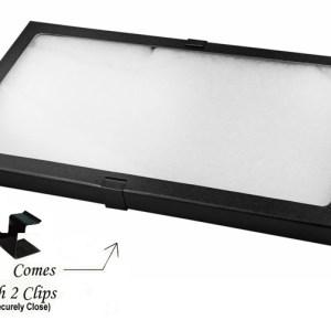 "Glass Top Display Box 14.5"" X 8"" X 3/4"""