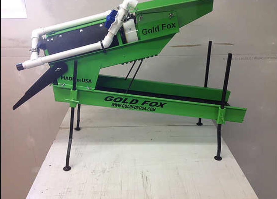 """Gold Fox Trommel - 5"""" Standard Model -3/8"""" - Green"""