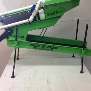 "Gold Fox Trommel - 5"" Standard Model -3/8"" - Green"