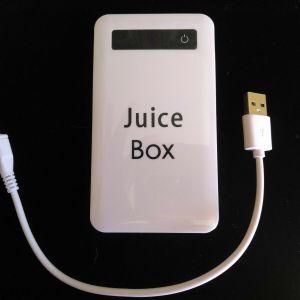 "4000 mAh ""Juice Box"" Portable Phone Charger"