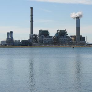 Duke Energy's Asheville plant. Archive photograph by Micah Wilkins/Carolina Public Press