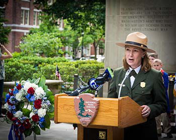 Cindy MacLeod. Photo courtesy of the National Park Service.