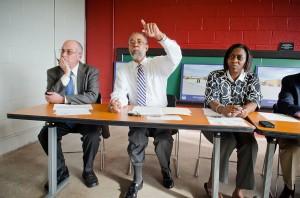 Gene Bell at HACA meeting