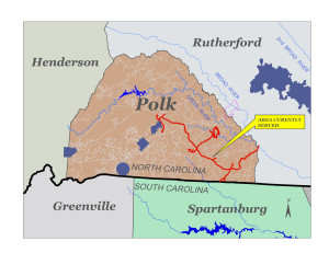 South Carolina's Inman-Campobello Water District currently manages Polk County's water system, which serves only about 140 customers, most of which are residential. Under the proposed contract, ICWD would run Polk's system for the next 75 years.