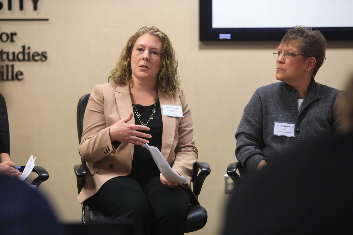 Jennifer Nehlsen discusses children's welfare.