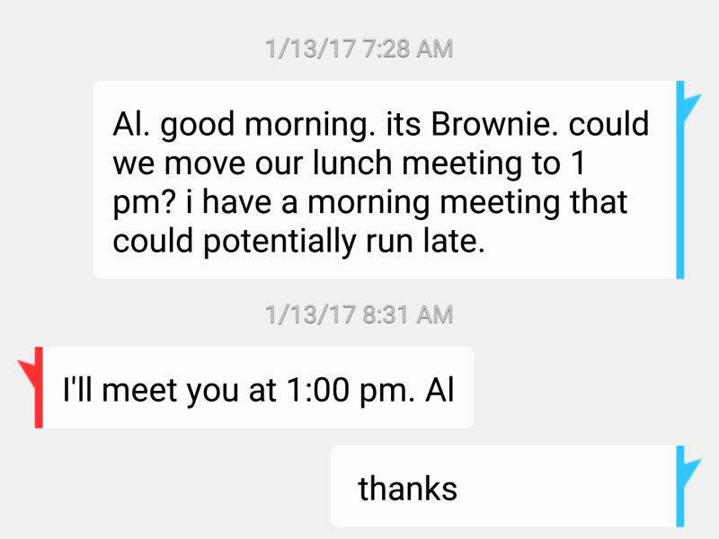 Brownie Newman text screenshot