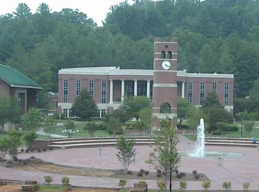 Western Carolina University in Cullowhee.