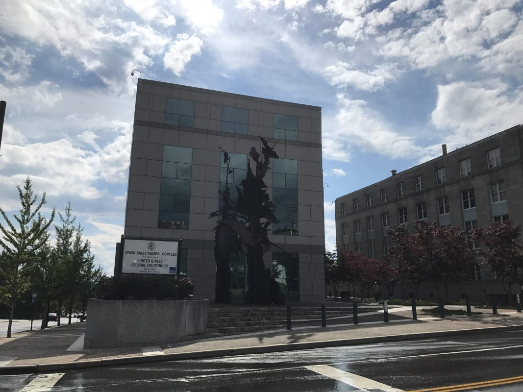 Federal courthouse in Asheville