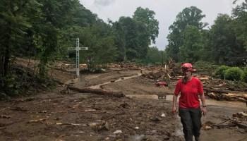 Mudslide in Polk County, May 2018