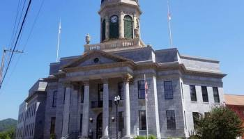 Cherokee County Courthouse in Murphy, N.C. Frank Taylor / Carolina Public Press