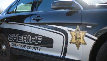 Cherokee County sheriff's squad car