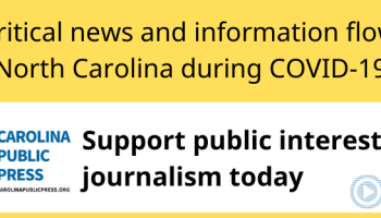 support public interest journalism in NC