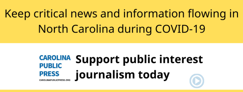 support public interest journalism in NC