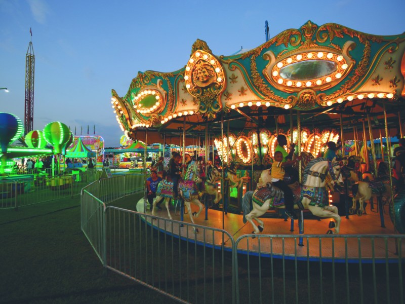 The Wilson County Fair, seen here in a previous year, is one of the events across the state that has canceled in 2020 due to concerns about COVID-19. Photo courtesy of the Wilson Visitors Center