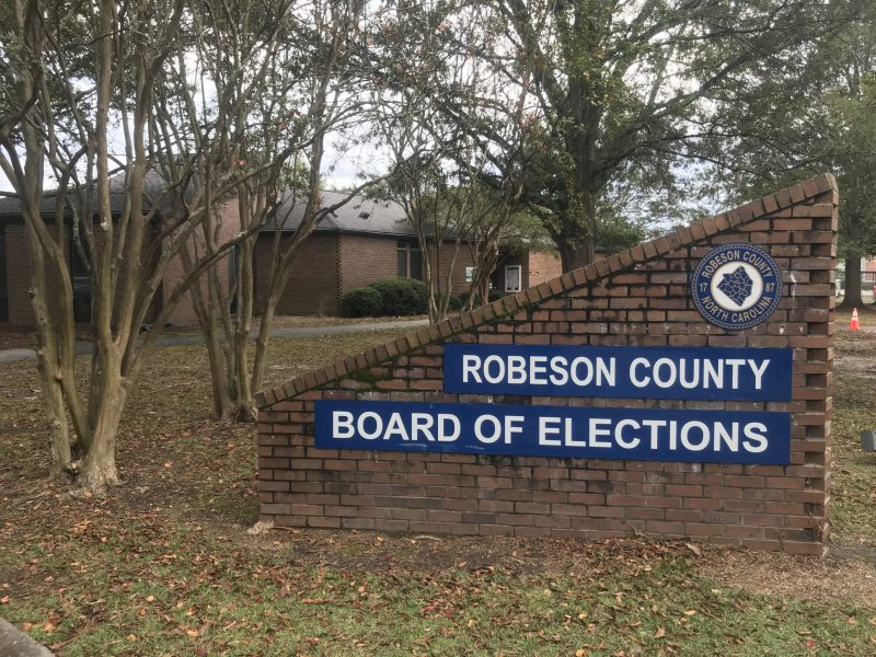 Robeson County Board of Elections