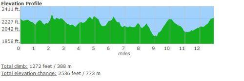 Asheville Citizen-Times Half Marathon Elevation