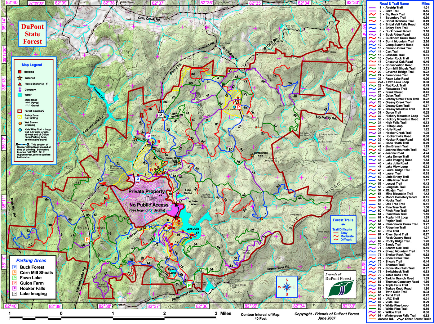 Hickory Mountain 10k Trail Race – September 18, 2010 – DuPont State on