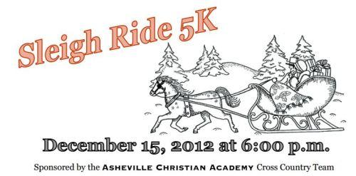 2012 Sleigh Ride 5k Asheville Christian Academy