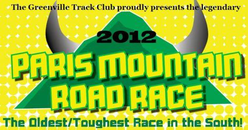 Paris Mountain Half Marathon