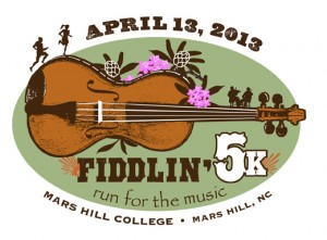 Fiddlin 5k Logo