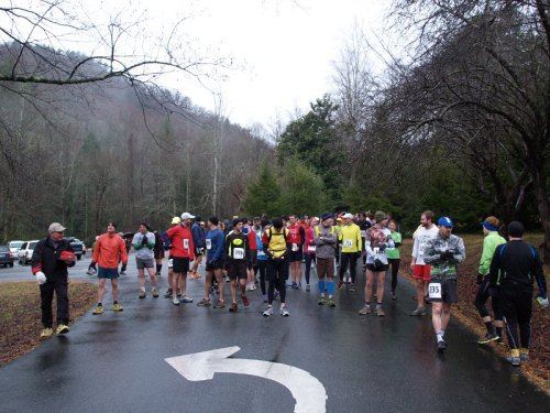 South Mountain Half Marathon Start