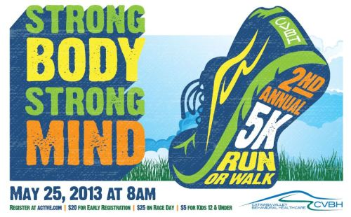 Strong Body Strong Mind 5k Banner